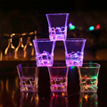 6 pcs/lot Party glasses Remanbar Induction flashing cola drink Beverage Whiskey cup with battery wedding party decoration