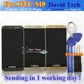ЖК-Дисплей + Дигитайзер Сенсорный Экран Стекла Ассамблея Для HTC ONE M9 Мобильный Телефон 5.0 дюймов Черный Золото Серебро С Рамкой Бесплатные инструменты,