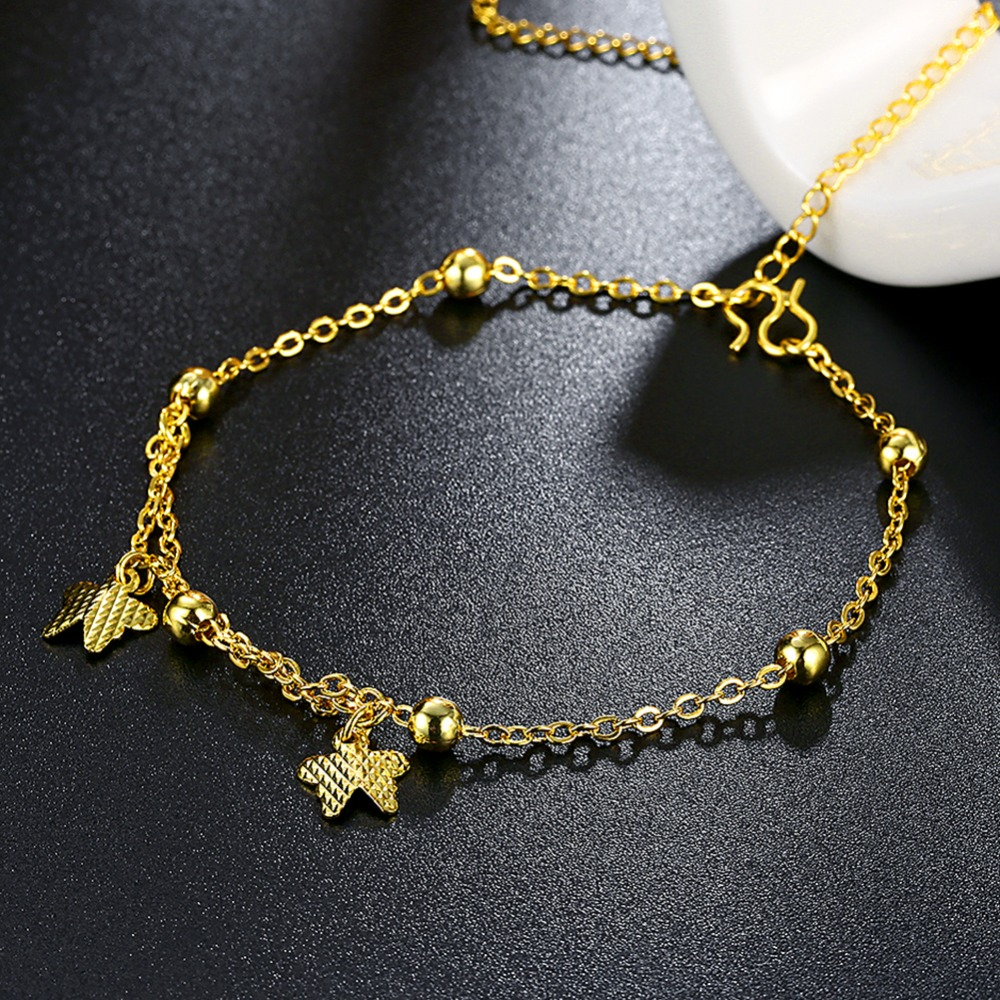 bracelets ankle anklet foot chain new fashion leg girl in butterfly jewelry item on anklets love women beach the bracelet accessories designer from