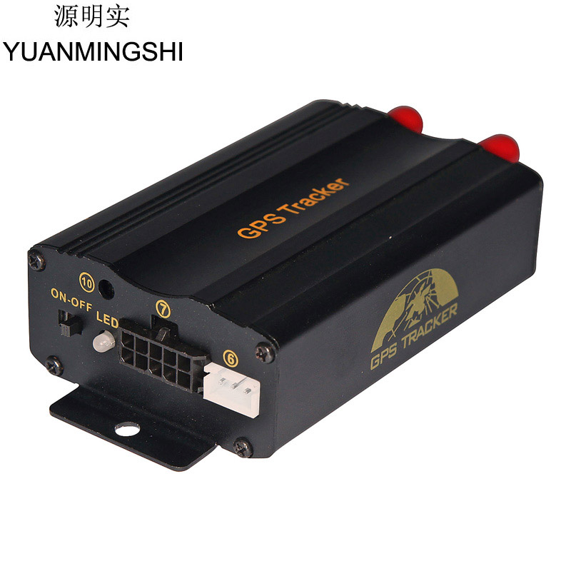 YUANMINGSHI New Easy Install Car Vehicle GSM GPRS GPS Tracking System Vehicle GPS Tracker Monitor Tracking Device a10 gps tracker locator for car vehicle google map 5000mah long battery life gsm gprs tracker