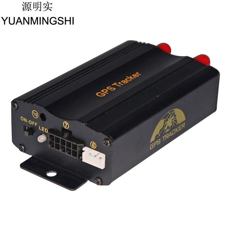 YUANMINGSHI nouveau facile à installer voiture véhicule GSM GPRS GPS système de suivi véhicule GPS Tracker moniteur dispositif de suivi