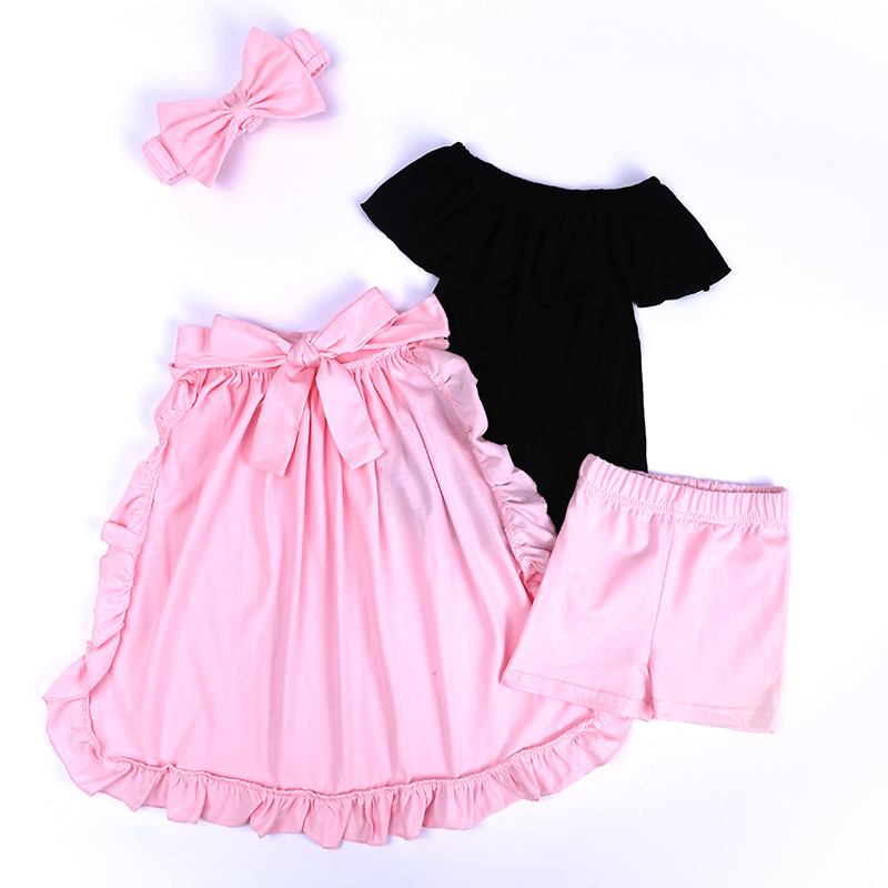 Toddler Girls Clothing Sets 2018 Summer Girls Clothes Set T-shirt+Pants Outfits Kids Clothes Girls Sport Suit Children Clothing