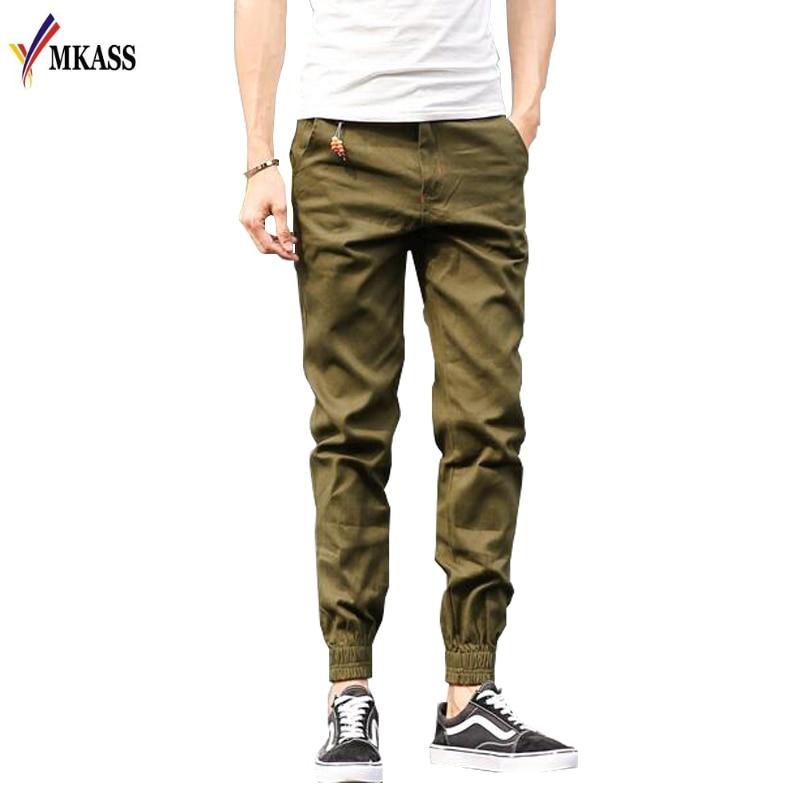 2018 Top Quality New Brand Mens Print Beam Foot Pants Active Joggers Pencil Pants Men Hip Hop Sweatpants