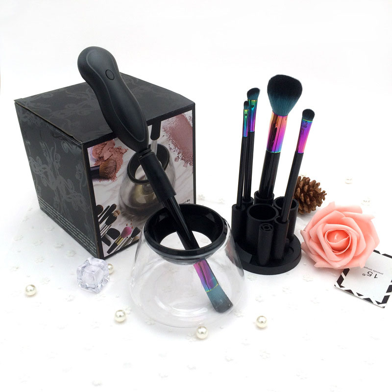 Makeup Brush Cleaner Device Cleans and Dries All Makeup Brushes In Seconds Cosmetic Brush Electronic Cleaning Washing Machine