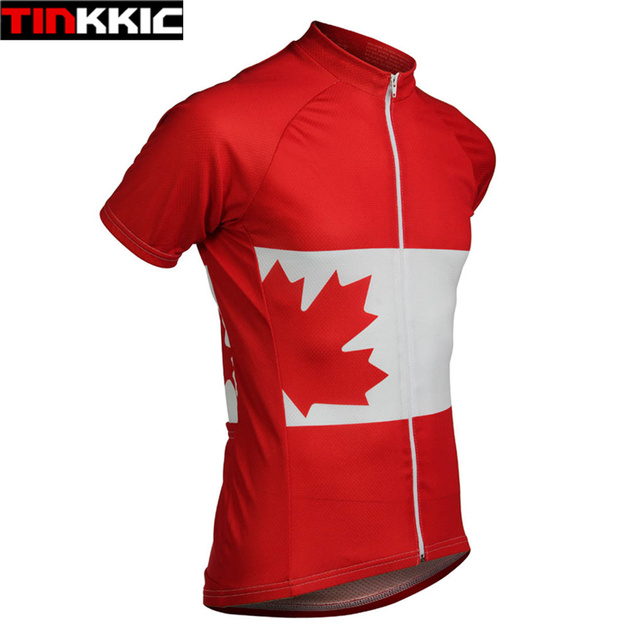 23002625bae94 Canada Men s Cycling Jersey Ropa ciclismo Road Bicycle Racing Cycle Clothes  Short Sleeve Maillot Ciclismo Fast delivery  XT-073