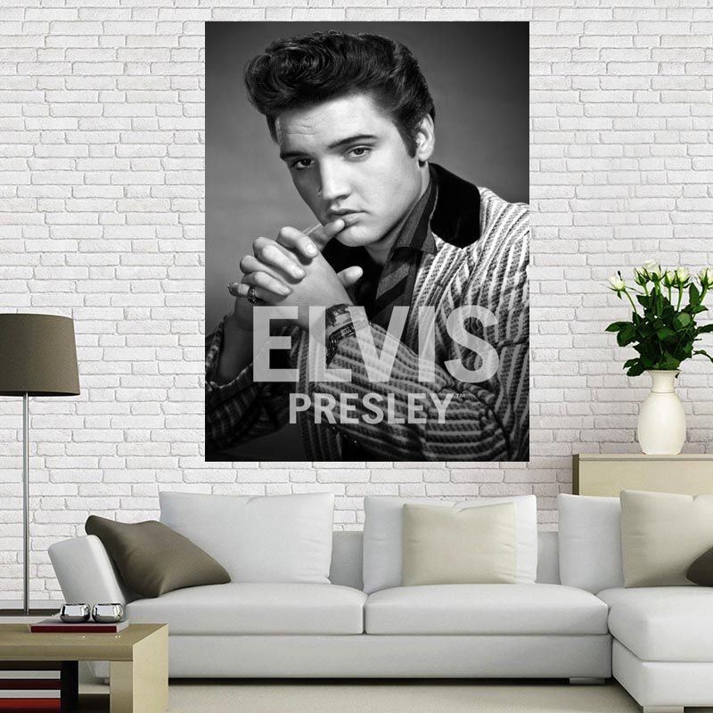 Custom Canvas Poster Cloth Fabric Art-Painting Elvis Presley Big-Size Print Silk