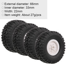 4PCS RC Car Tire Tyre for WPL C24 C14 2.4G 4WD RC Crawler RC Cars(China)