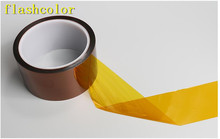 Flashcolor High quality 40mm 100ft High Temperature Heat Resistant Polyimide kapton Tape for Electronic Industry