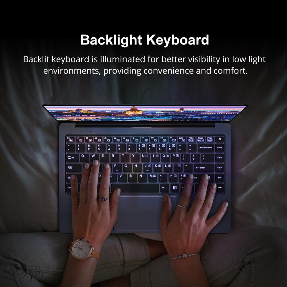 CHUWI LapBook Pro 14.1 Inch Intel Gemini-Lake N4100 Quad Core 8GB RAM 256GB SSD Windows 10  Laptop with Backlit Keyboard 4