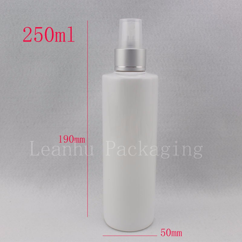 250ml-white-bottle-with-silver-spray