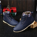2016 Winter New Men's Short Boots Fashion Trend Casual Men Boots Korea Style Non-slip Wear Resistant Keep Warm Male Snow Boots