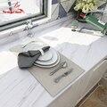 New Style 40cm Waterproof Wallpaper Kitchen Oil-proof Cupboard Renovation Wall Stickers Office Desk Table DIY Shiny Decor Film