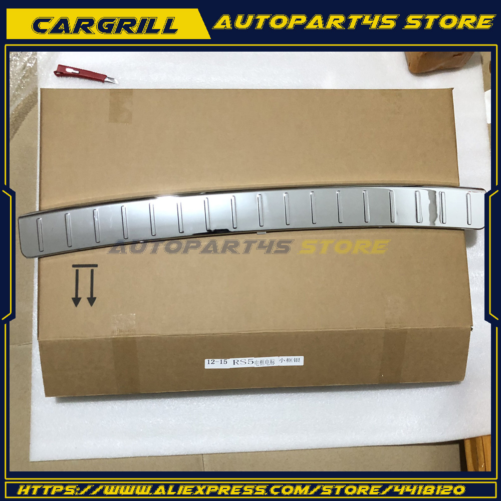 Rear Bumper Chrome Guard Plate Cover for Mercedes GL350 GL450 GL550 2010-2012 image