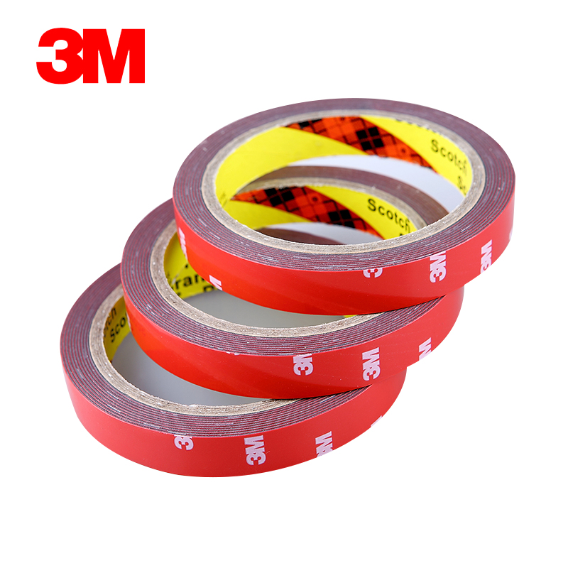 10x 20mm (2cm)*3M 3M Two Sides Acrylic Foam Tape with Strong Sticky for Auto Car Truck awning Marble Ceramics, Glazed tile 10x 30mm 3cm 3m 3m strong sticky adhesive acrylic foam tape for auto car truck advertise metal panel frame attach