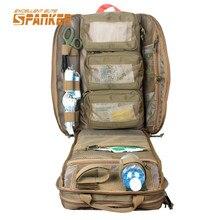 SPANKER Molle Militärapotheke Rucksack Outdoor Reise Medizinische Rucksack Kampf Rucksack Tactical Jagd Taschen