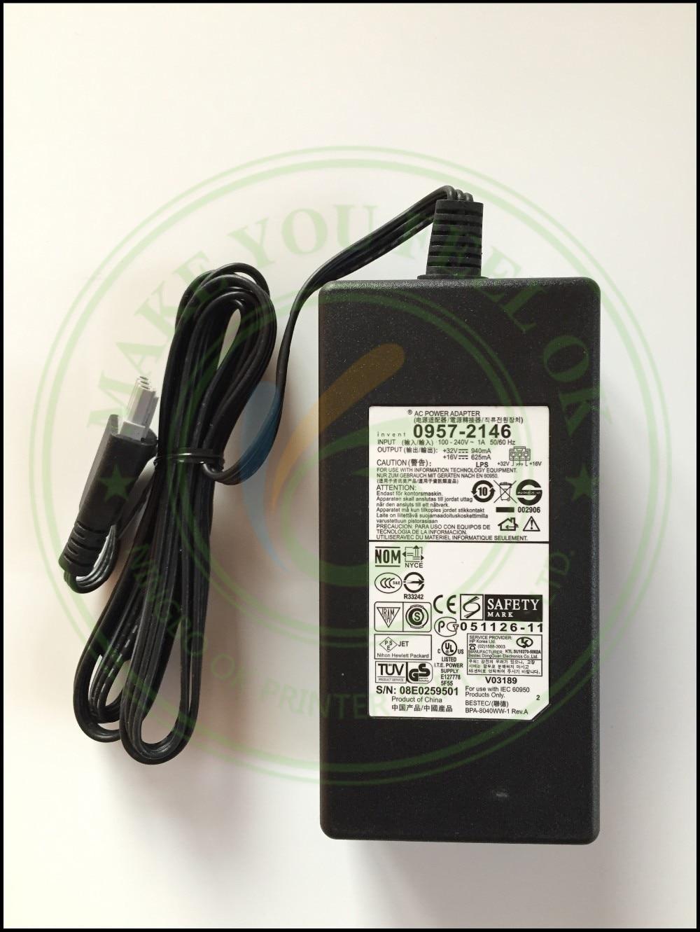 ORIGINAL NEW 0957-2178 0957-2146 0957-2166 AC Power Adapter Charger 100 - 240V 1A 50/60Hz 32V 940mA 16V 625mA For HP Printer