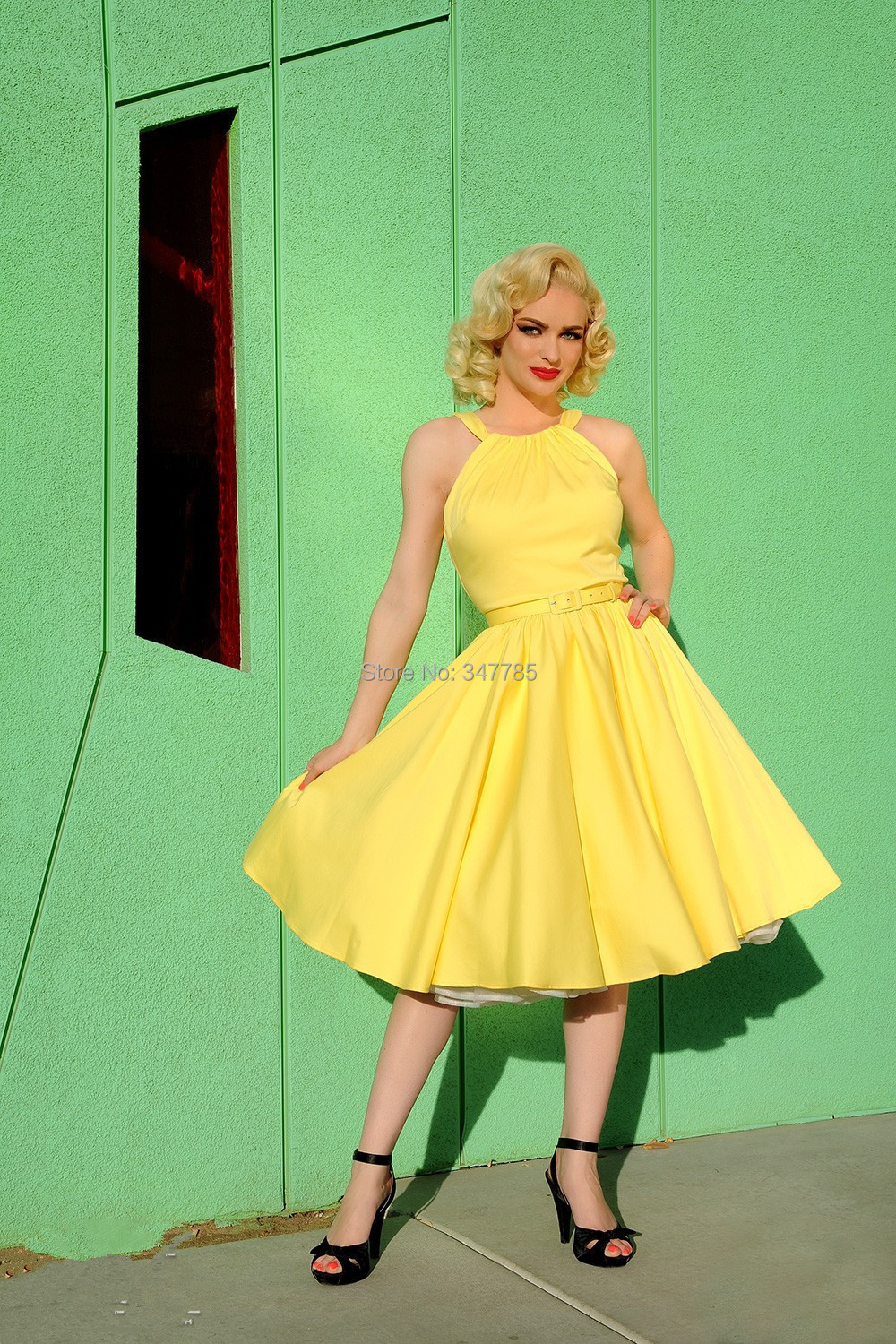50s Pin Up Style Dresses