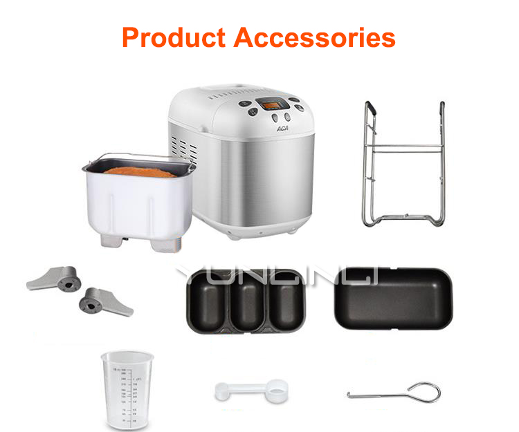 Machine à pain multifonctionnelle et machine à pain à pétrir-lever-cuire au four automatique