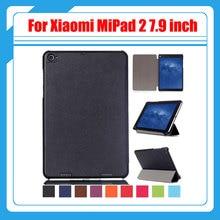 """3in1 Pu cubierta de cuero para Xiaomi MiPad 2 Mi pad 2 7.9 pulgadas de la tableta caso para Xiaomi mi Pad 3 Mipad 3 7.9 """"tablet + regalo"""