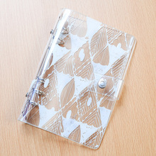 Yiwi Print Planner Cover PVC Super Transparent 6 Hole Loose Leaf