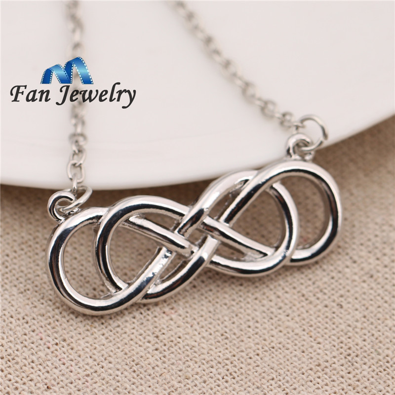 Double Infinity Necklace - Revenge - Emily Throne BgHRhuGcy