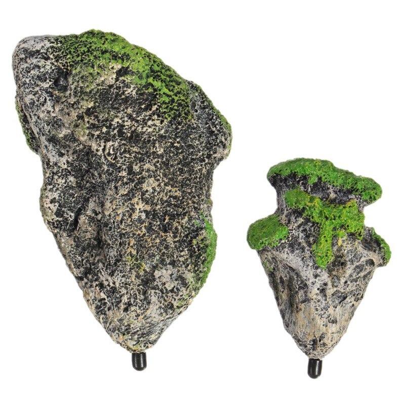 Nuevo Acuario Peces Tanque Rocas Flotante De Gran Piedra suspendido Decoración Ornamento