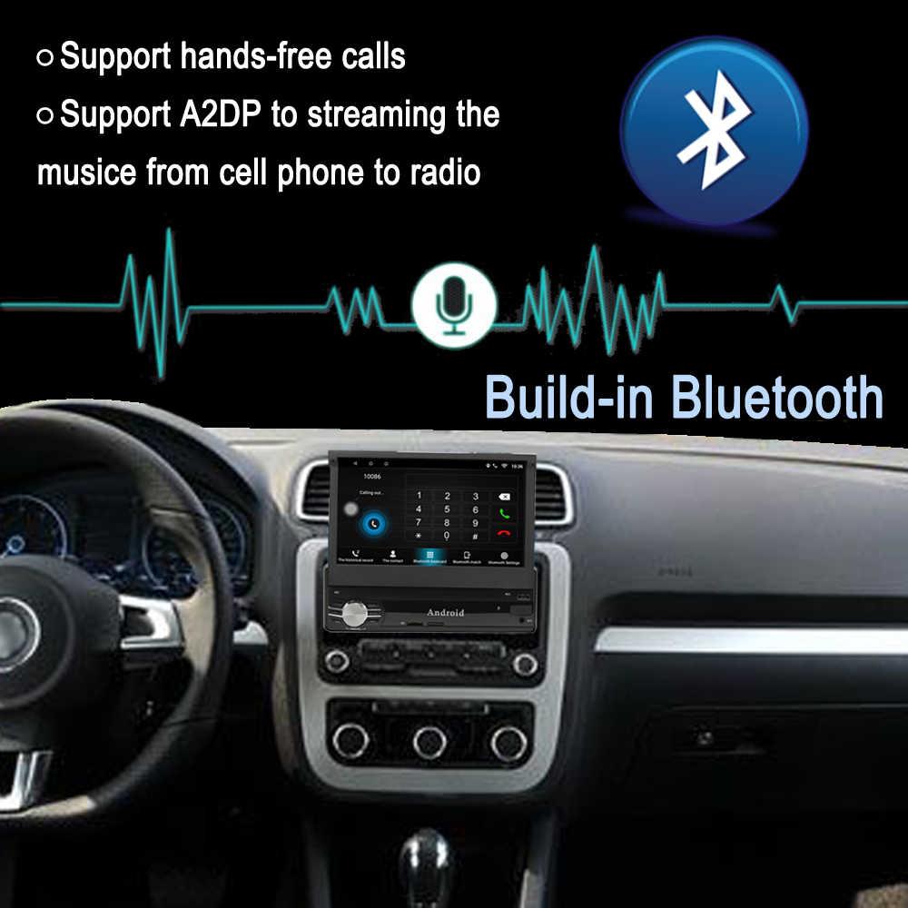 Panlelo T1 1 Din Android 8,1 coche Multimedia 7 pulgadas Quad Core Android unidad Autoradio coche reproductor de Audio Bluetooth
