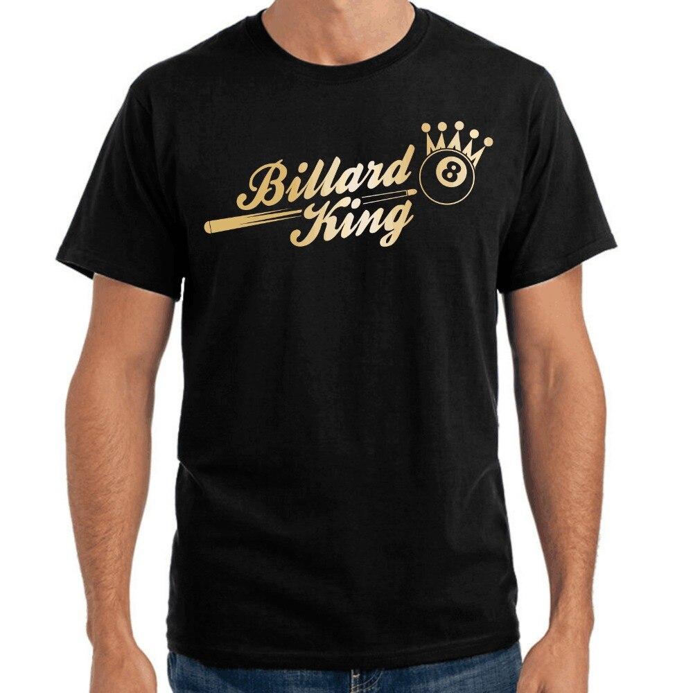 Men Printed Round Men T-Shirt Cheap Price Billard King Sporter Pool 8-Ball Crown Fun Design Your Own T Shirt Sweatshirt