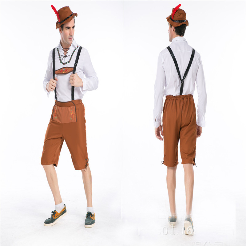 aliexpresscom buy free shipping hot selling men halloween costume party carnival costume german beer men oktoberfest costume m xxl from reliable - Free Halloween Costume