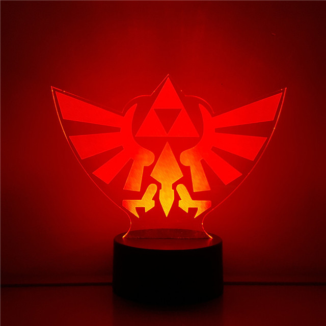 Legend of Zelda LED 3D Night Lamp