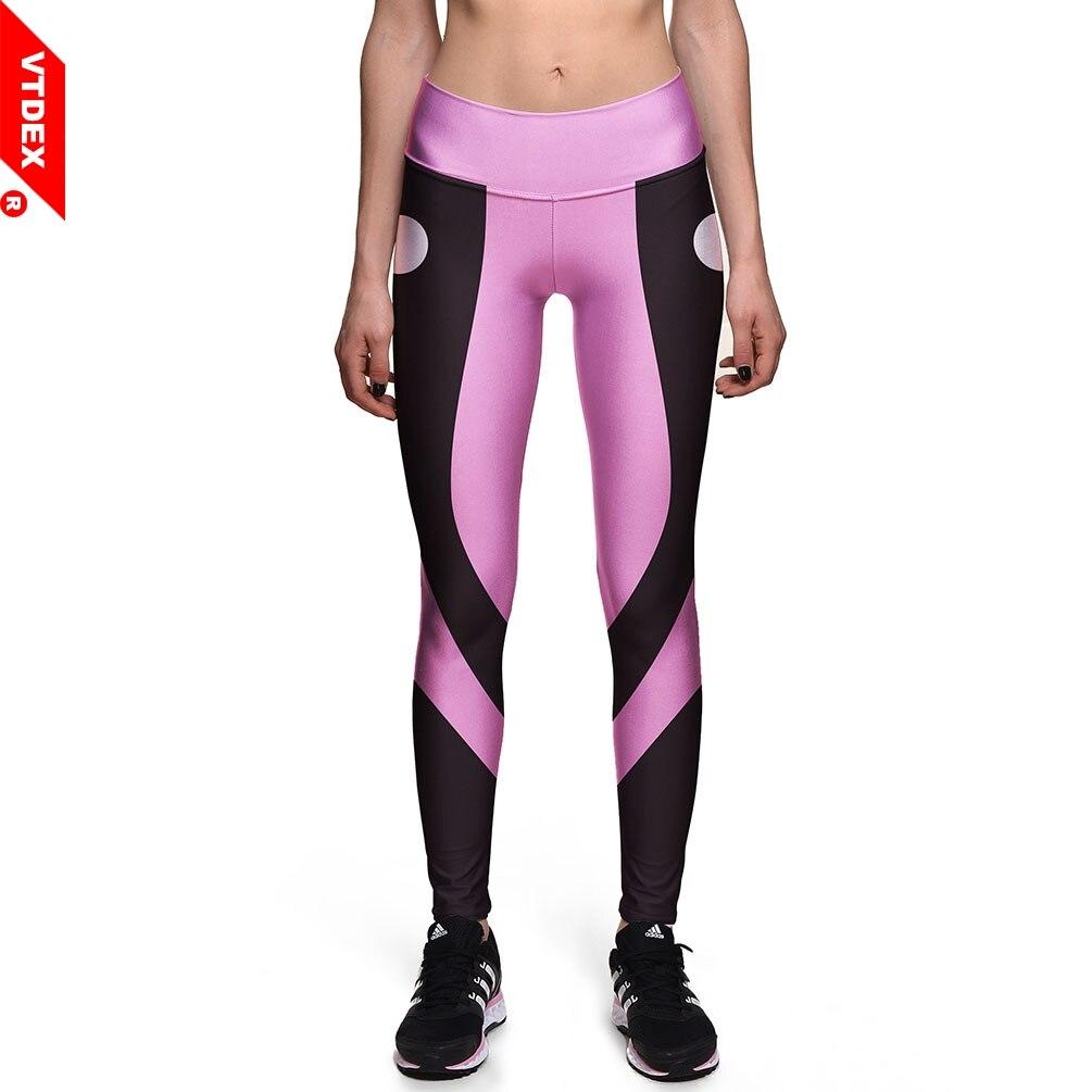 VTDEX Fitness Yoga Tops Women Sportswear Leggings High Waist Running Tights GYM Skinny Pants Compression Breathable Pencil Pants