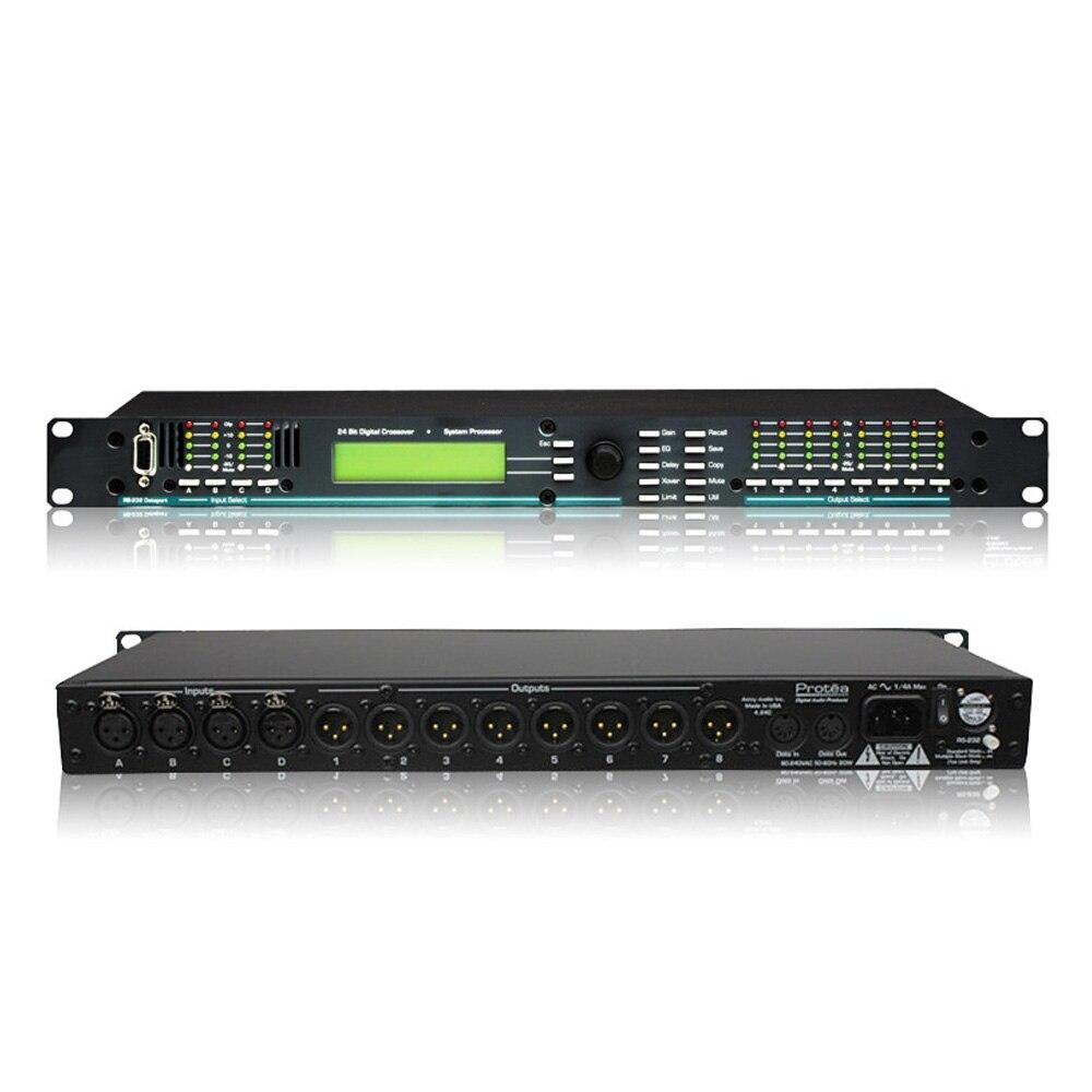 4 24CL Digital Audio Processor 4 In 8 Out Digital Effect Processor