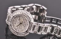 Luxury Full Crystals Women Bracelet Watches Original MELISSA Brand Steel Wrist watch Japan Quartz Analog Relogios Montre Femme
