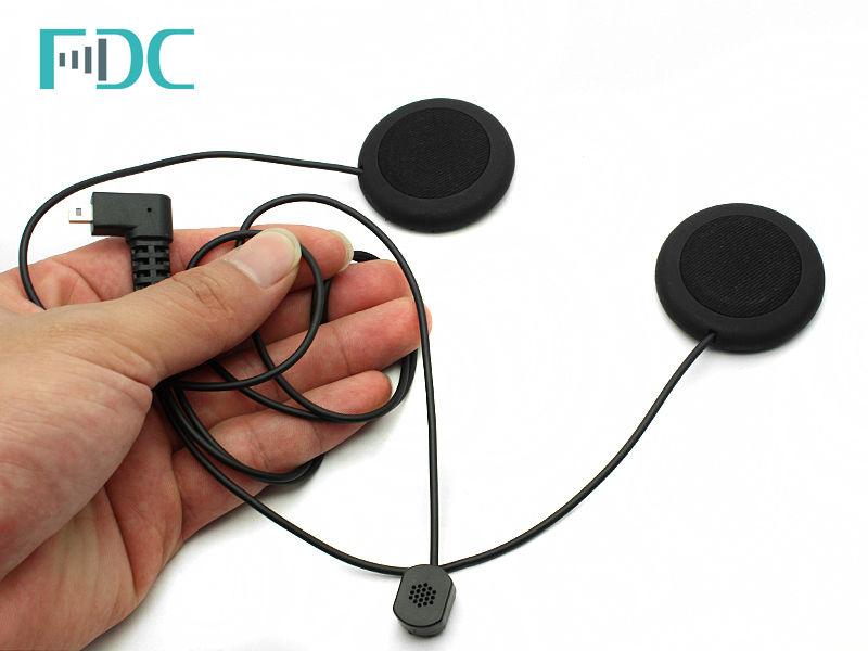 Brand FDC Soft Line Headset Mic Micphone Headphone For T-COM Bluetooth Intercom цена 2017