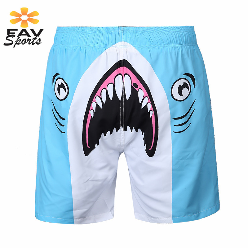 Men 2018 Beach   Shorts   Surfing Trunks Quick Dry Swimming   Board     Shorts   3D Printed Bathing Suit Surft Pants Bermuda Jogger surfing