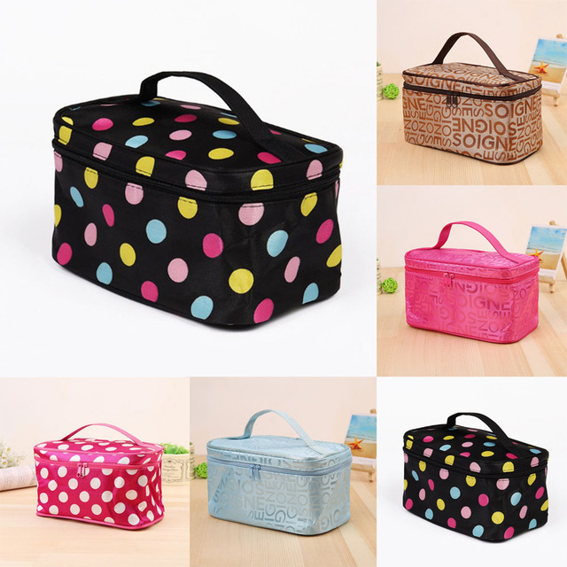 fc6d0db282a6 US $3.24 20% OFF|2018 Organizer Travel Fashion Lady Cosmetics Cosmetic Bag  Beautician Storage Bags Large Capacity Women Makeup Bag, -in Cosmetic Bags  ...