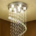 Потолочный светильник GU10 Plafonnier  светодиодный  в современном Ретро Европейском стиле  с кристаллами