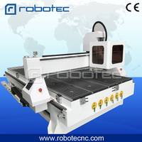 Economic price auto tool changing cnc router machine 3d cnc wood working machine RTM 1325 3d model artcam