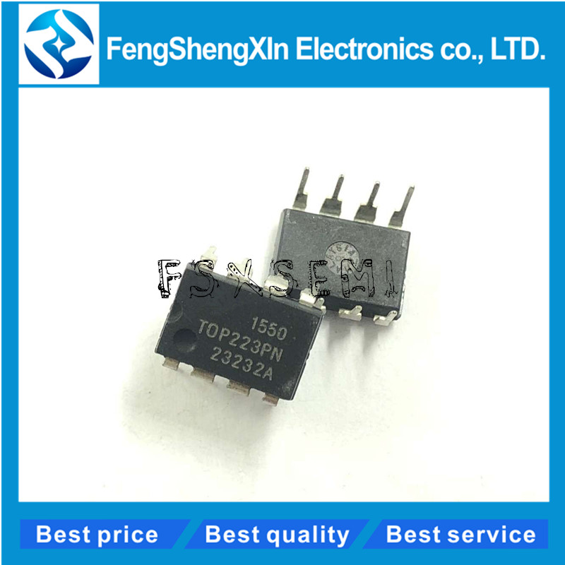 10pcs/lot TOP223PN <font><b>TOP223P</b></font> DIP-8 LCD power management IC image