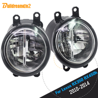 Buildreamen2 For Lexus RX350 RX450h 2010 2011 2012 2013 Car 4000LM H11 LED Bulb Fog Light DRL Daytime Running Lamp 12V 2 Pieces
