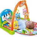 Multifunções Piano de Rack de Fitness Com Música Chocalho Do Bebê recém-nascido Infantil Tapete de Fitness Esteira do Jogo Atividade Crianças Brinquedo Educativo