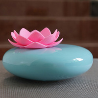 USB Air Humidifier Aroma Mist Fogger Aroma Ceramic Humidifier Air Diffuser Lotus Purifier Atomizer Essential House