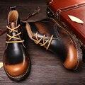 Botas de Trabalho Botas de Cowboy Deserto Martin Botas Botas de Moda Masculina Sapatos Casuais De Inverno Designer de Luxo Estilo Edgy Steampunk Botas Chukka