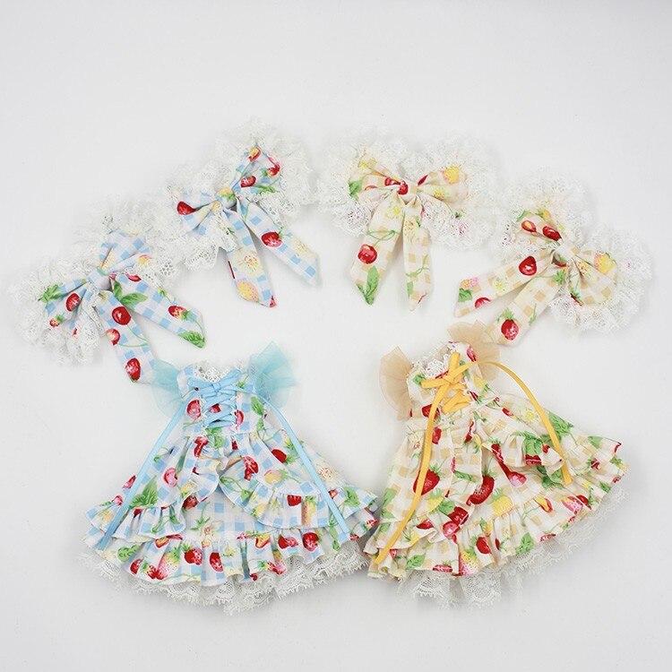 Neo Blythe Doll Butterfly Skirt Dress 1