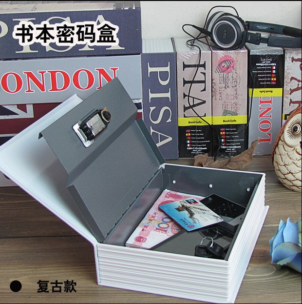 Cash bank gift simulation dictionary safe lockbox