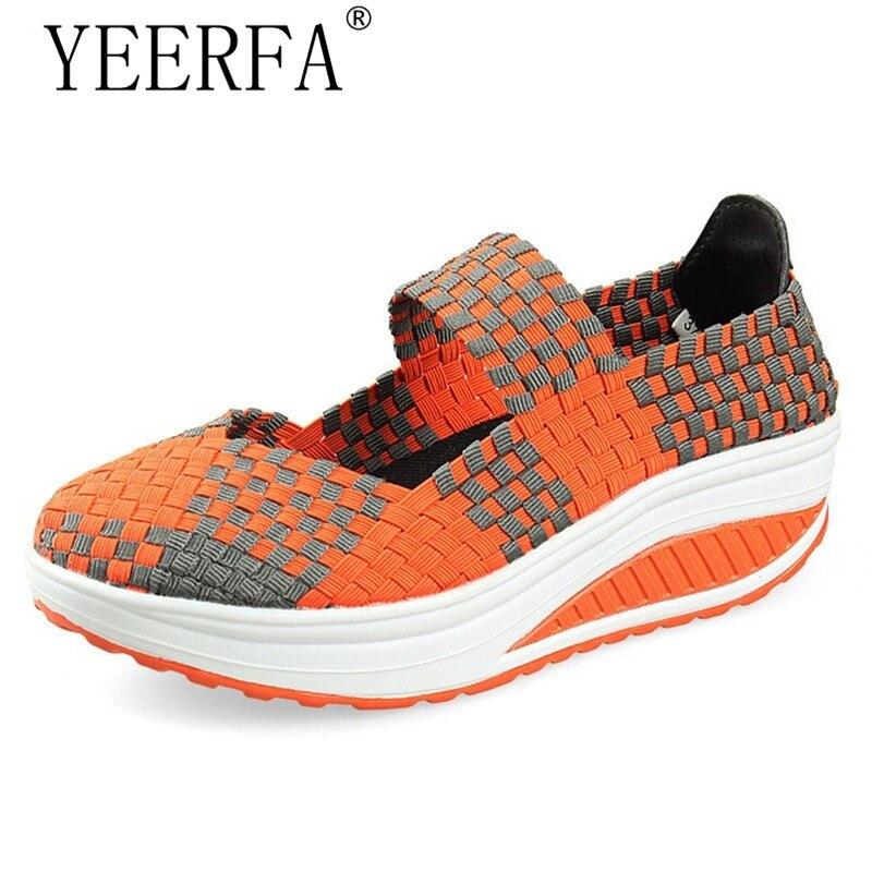 Best buy ) }}YEERFA Summer women platform sandals shoes women woven