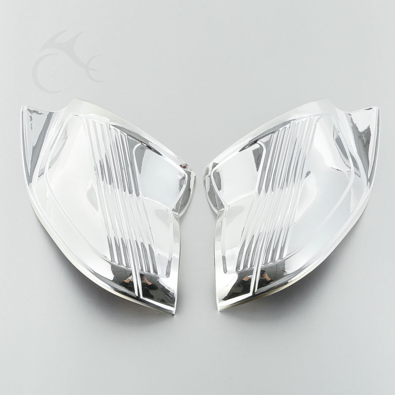 Chrome Inner Fairing Cover For Harley Touring Street Electra Glide 1996-2013 97 Batwing FLHX FLHT 96-13 Motorcycle