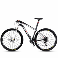 Ms Bicycle 30 Mountain Bike Super Lightweight Carbon Fibre Speed Male 27 Speed Brake Oil 26