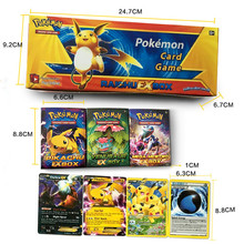 408PCS/Set English Pokemon Cards XY Trading Card Playing Games Collections Pokemon GoToys Include EX mega Card For Kids gift
