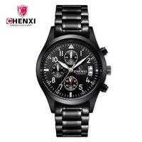 2017 CHENXI Luxury Brand Men Watches Stainless Steel Band Waterproof Quartz Wristwatch Fashion Male Watch Function
